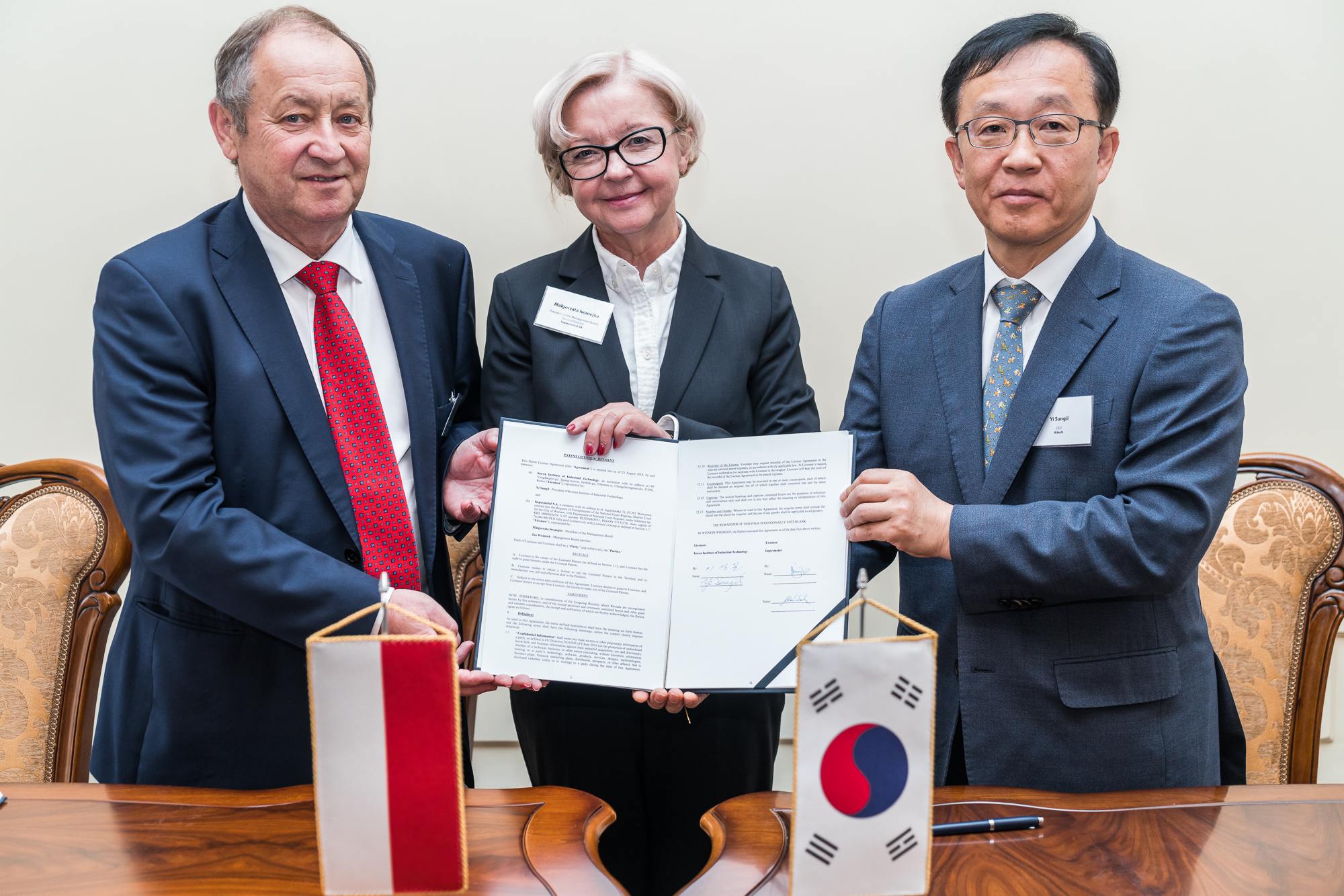 KITECH and Impexmetal SA of Poland Signs Patent License Agreement on ECO-Mg Alloy