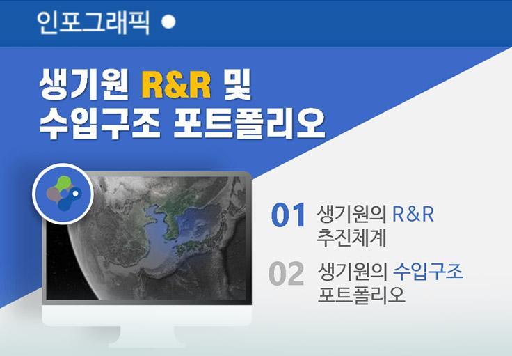 생기원 R&R 및 수입구조 포트폴리오